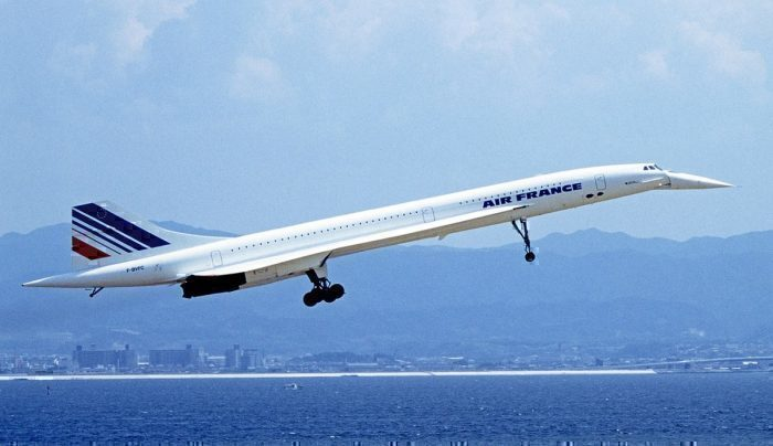 Air France Concorde.