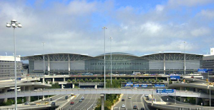 International Terminal of San Francisco International Airport