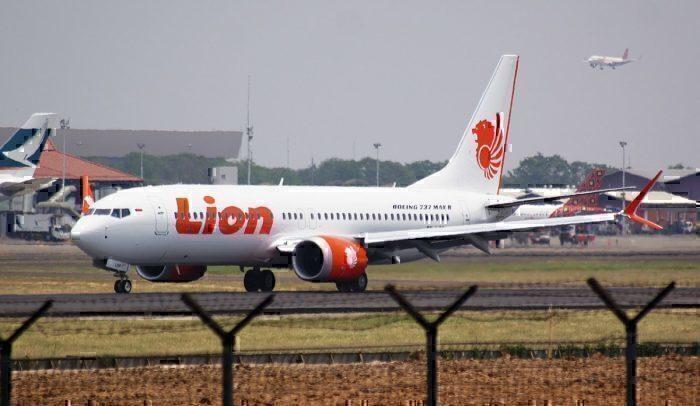 A Lion Air Boeing 737 MAX