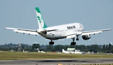 A Mahan Air Airbus A300