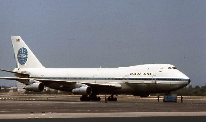 Pan American Boeing 747.