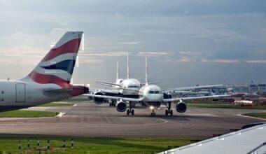 Take off queue Heathrow