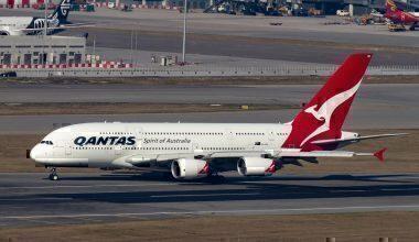 Qantas at Hong Kong