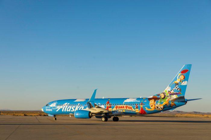 Alaska Airlines, Toy Story, Disneyland
