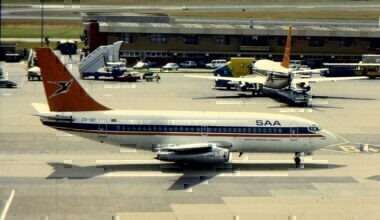 South African Airways Boeing 737