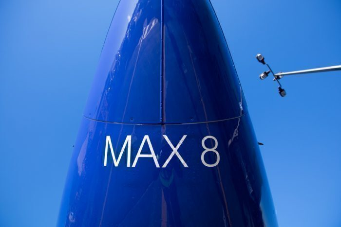 Southwest Airlines MAX nose