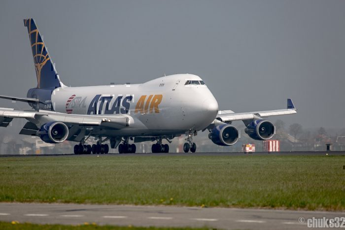 Um dos 747 da Atlas Air. Foto: Chuks Spotting via Flickr
