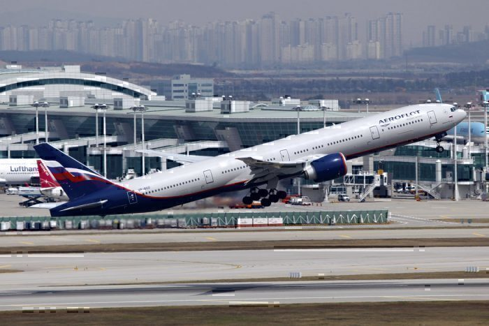 Aeroflot Boeing 777ER-300