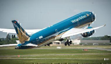 A Vietnam Airlines Jet