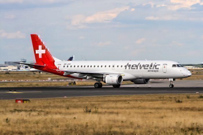 Helvetic Airways Embraer ERJ-190LR