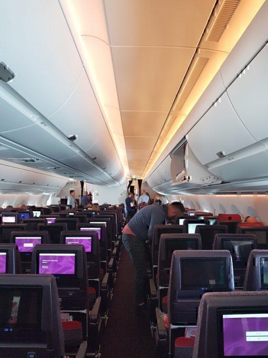 Virgin A350 economy