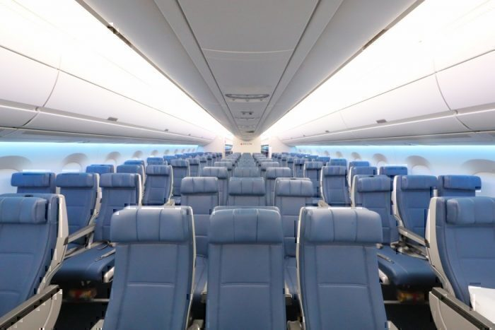 Delta A350 Main Cabin