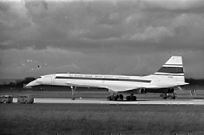Concorde in joint manufacturer livery