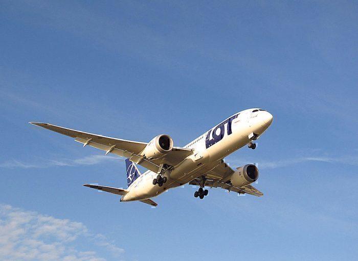 LOT Polish 787-8