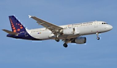 A Brussels Airlines Jet