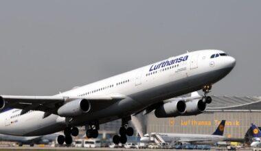 Lufthansa, Airbus A340, Engine Stall