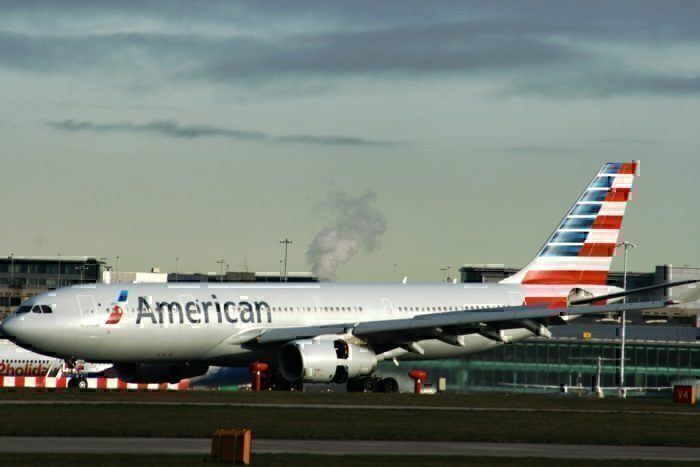 American Airlines chemical spill