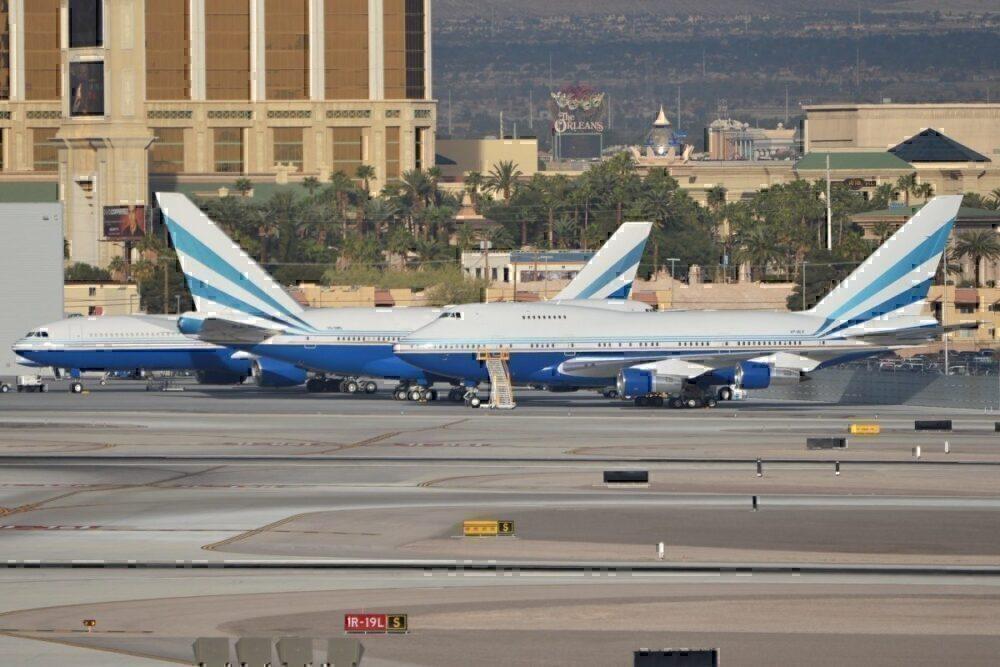 TWA 747 Sands Corporation