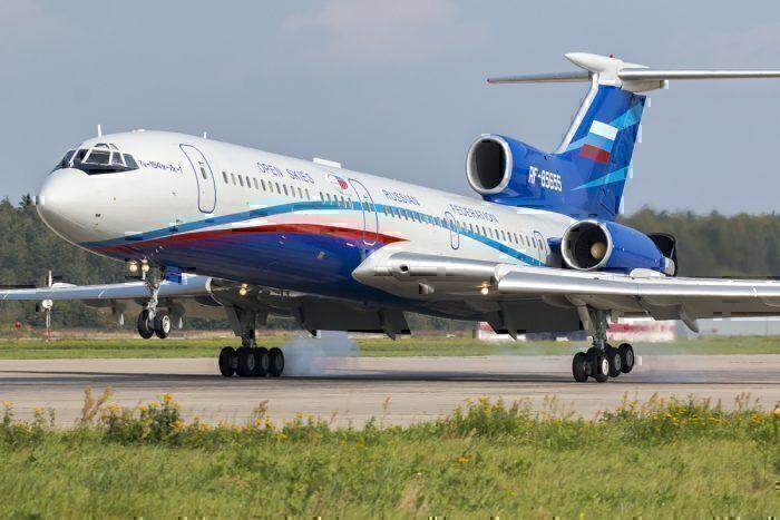 Open Skies Treaty, Russian Air Force, Tupolev 152
