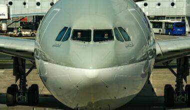Qatar Airways cockpit