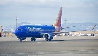 Southwest Boeing 737 MA