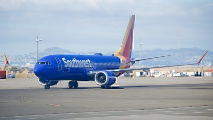 Southwest Airlines Boeing 737 MAX -8