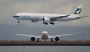 Cathay Pacific jets