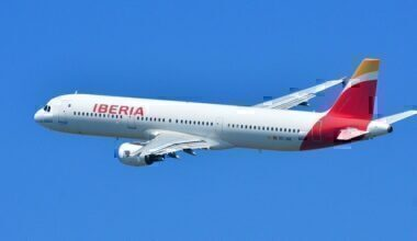An Iberia Airbus A321