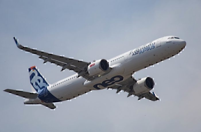 An Airbus A321neo