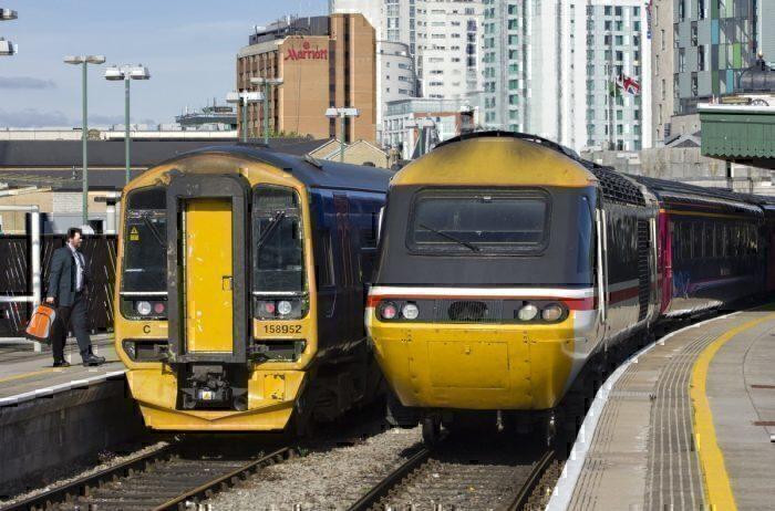 British Rail trains