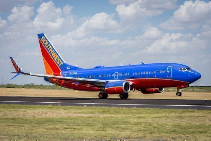 A Southwest Boeing 737