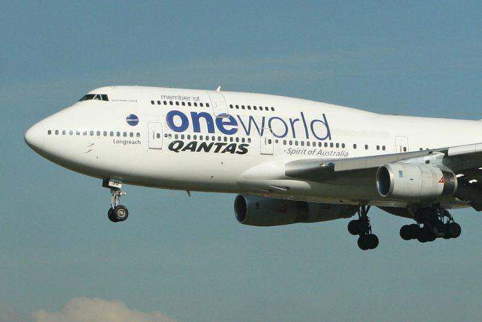 Qantas, Rolls Royce, Boeing 747