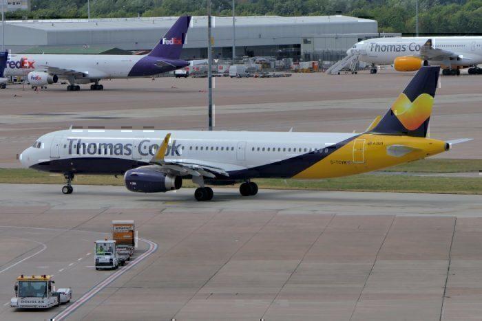A Thomas Cook Jet