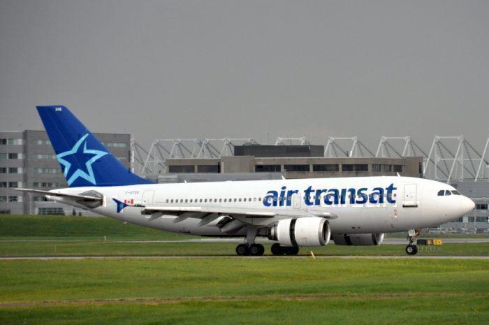 An Air Transat Airbus A310
