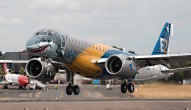 EGLF - Embraer E190-E2