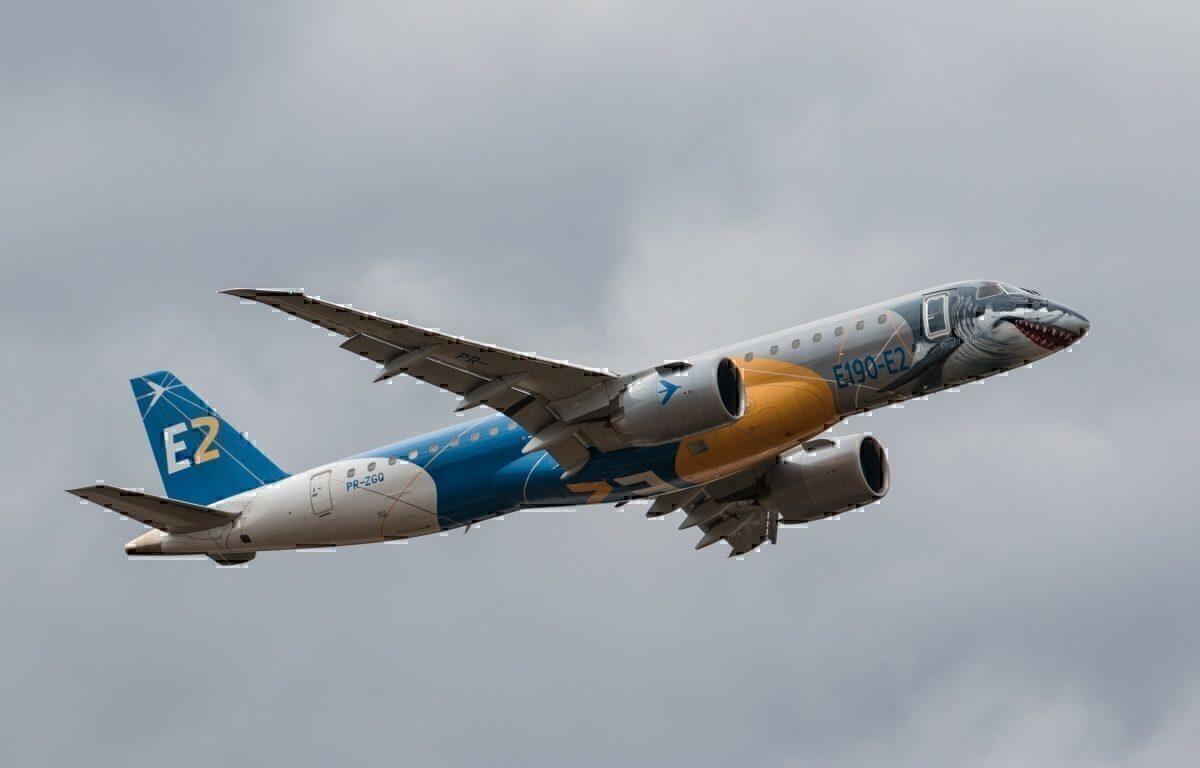 EGLF - Embraer E190-E2 - PR-ZGQ