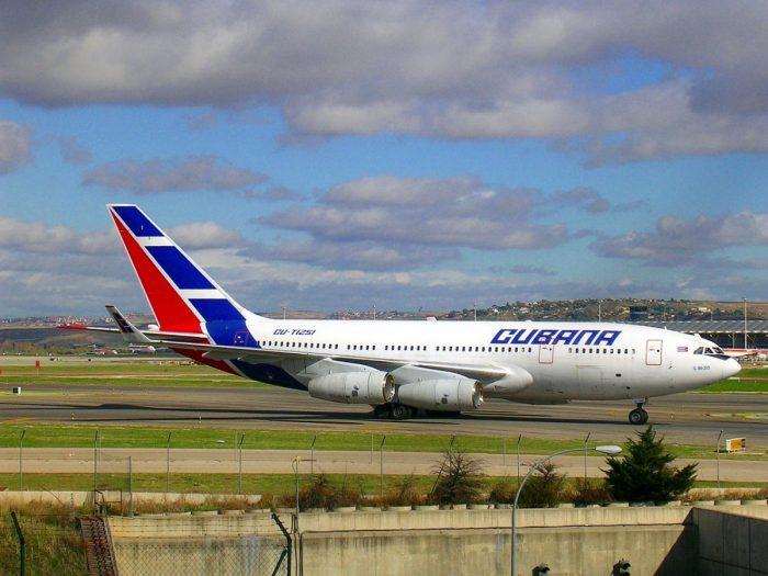 Cubana Ilyushin Il96-300