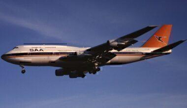 SAA Boeing 747-300