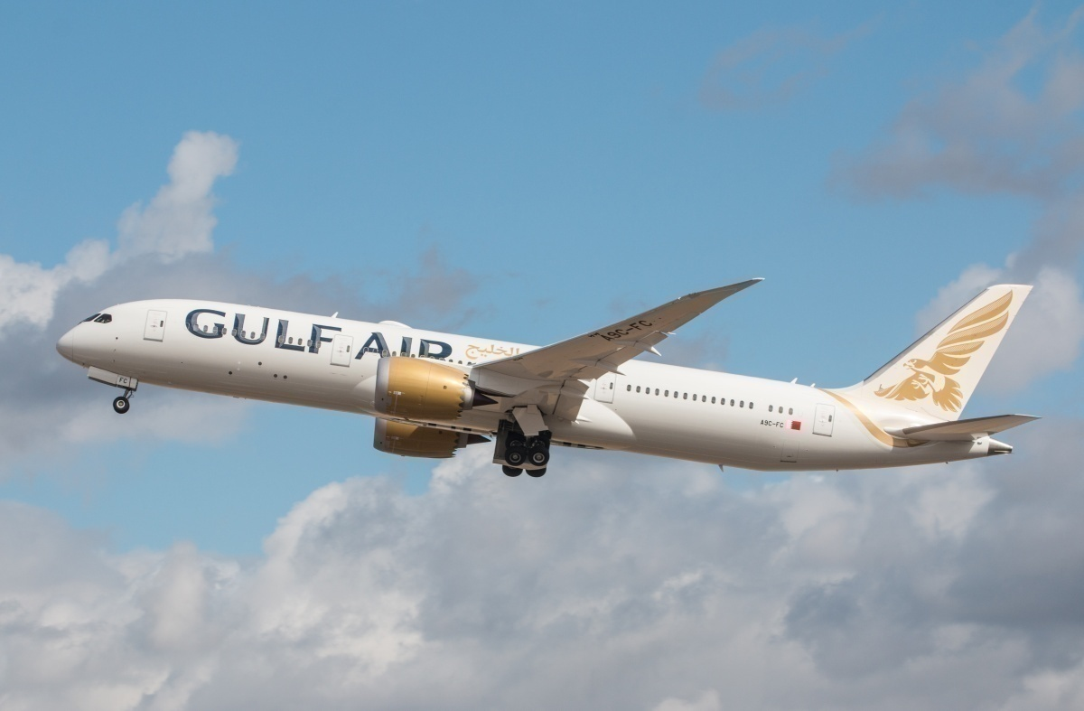 EGLL - Boeing 787 Dreamliner - Gulf Air - A9C-FC