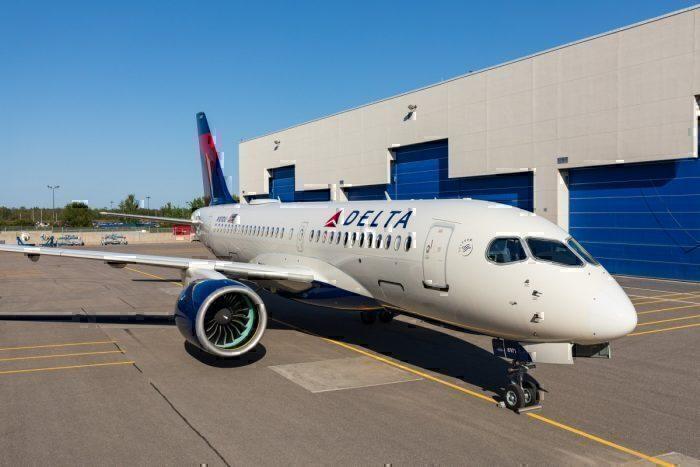 Delta's Airbus A220