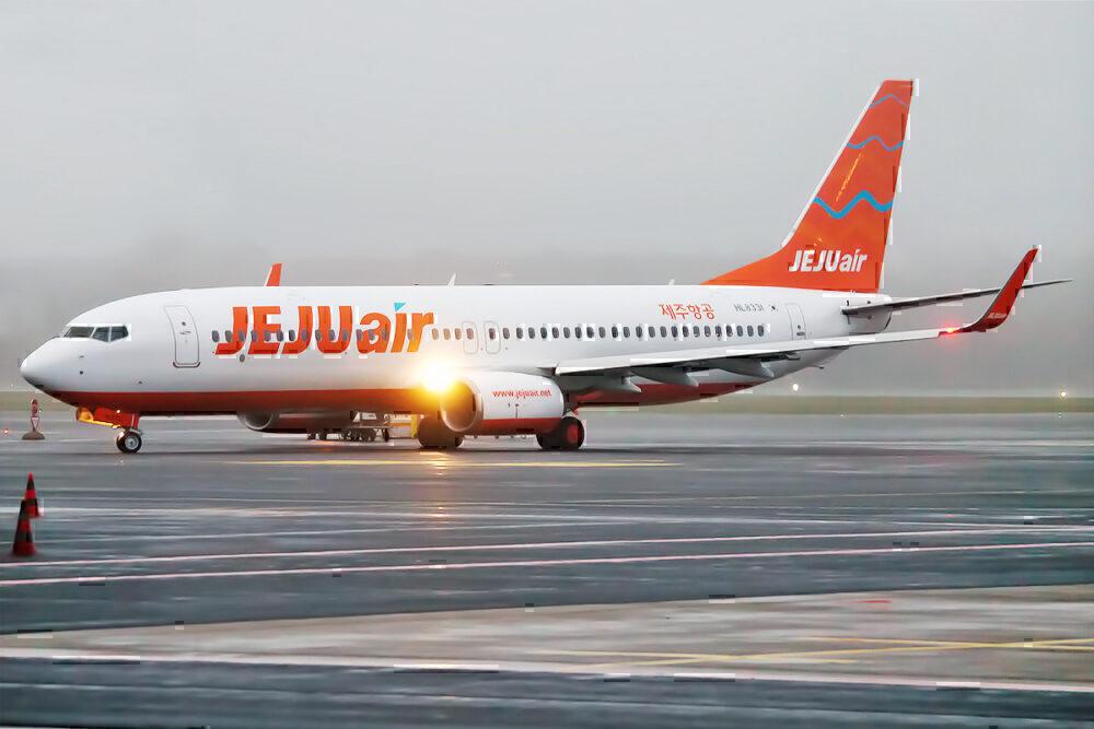 A Jeju Air Boeing 737