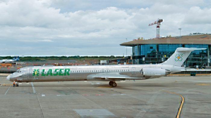 A Venezuelan LASER aircraft