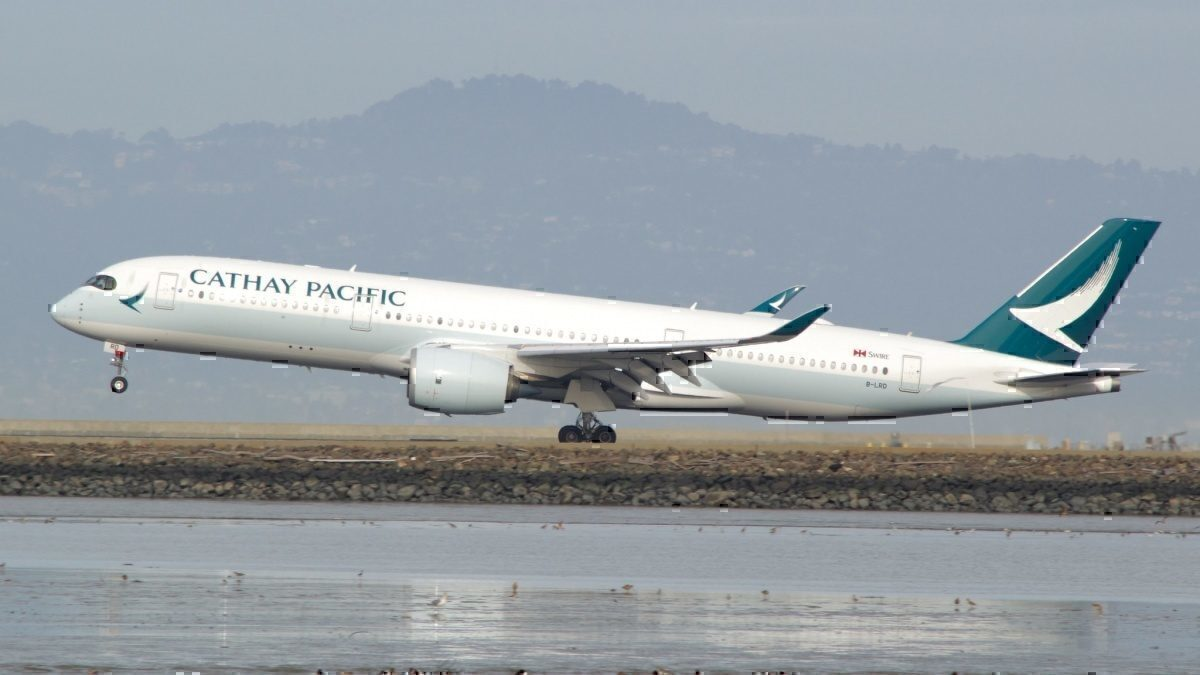Cathay Pacific Airbus A350 -1000