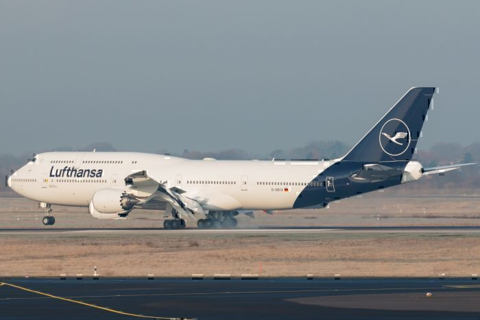 Os primeiros 747-8 da Lufthansa. Foto: Benedikt Lang via Flickr