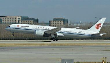 Boeing 787-9 'B-1368' Air China