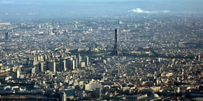Paris from the air