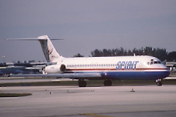 A Spirit Airlines McDonnell Douglas DC-9