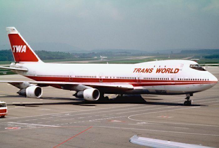 TWA 747-100