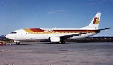 Iberia 737