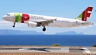 A TAP Air Portugal Airbus A320-214